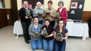 Brave women created terrariums in promise of Spring